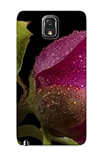 New Arrival Purple Peony For Galaxy Note 3 Case Cover Pattern For Gifts