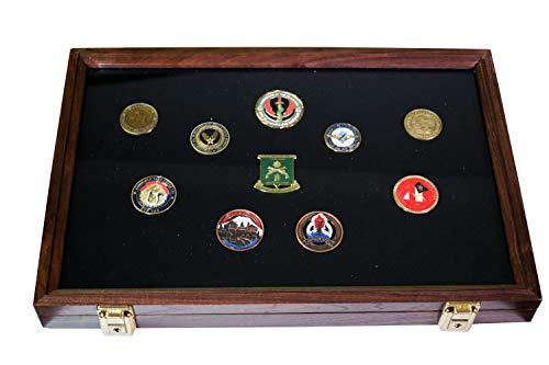 Hobbymaster Display Case 24x18x2 (Walnut Black)