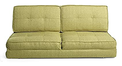 huge selection of 502ce 9c4b1 Urban Ladder Desso 2 Seater Futon Sofa Cum Bed (Colour : Green)