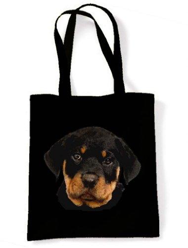 Tote Shoulder Pup Tote Bag Shoulder Rottweiler Rottweiler Pup nX8q7xnwTY