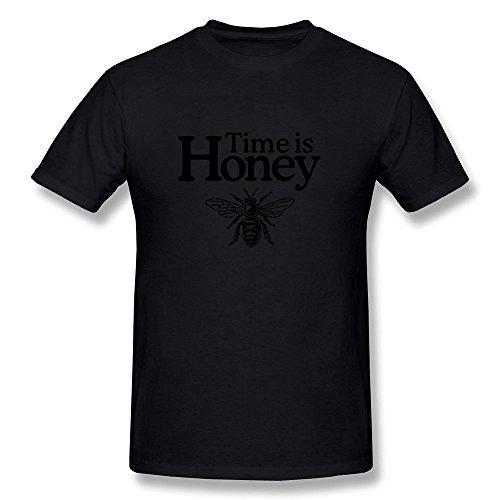 geek-time-honey-beekeeper-design-mens-t-shirt-black-size-xs
