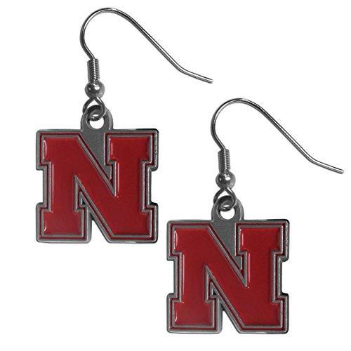 Nebraska Huskers Dangle Earrings (Nebraska Cornhuskers Earring)