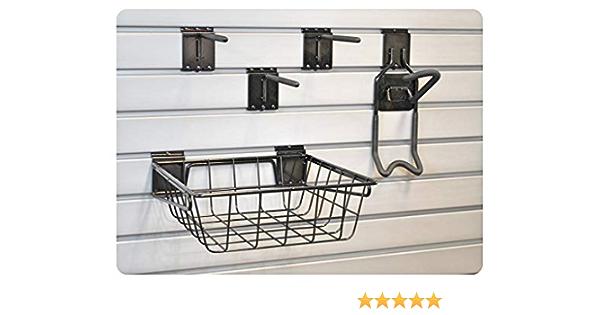 GaragePro 16 x 5 Steel Shelf for Garage Slatwall Panel Organization