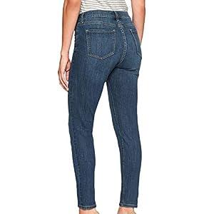 Banana Republic Women's Skinny Fit High-Rise Skinny Jeans Medium Wash