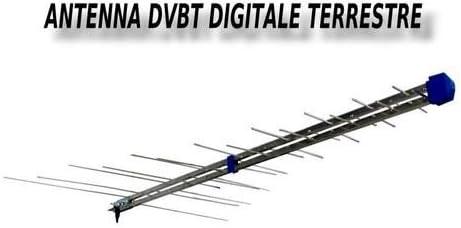 Galaxy Antena logaritmica TV Digital Terrestre III IV V Banda ...