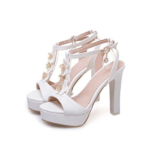 Zapatos sint Cuero Mujer de de SqBqwx4C81