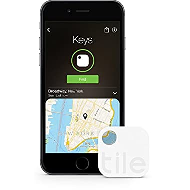 Tile (Gen 2) - Phone Finder. Key Finder. Item Finder  - 4 Pack - Save 30% (Discontinued by Manufacturer)