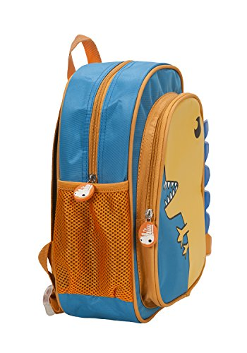 Rockland Jr. Kids' My First Backpack, Dinosaur, 12.5-Inch