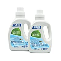 Seventh Generation Natural Laundry Detergent Free and Clear Unscented 106 loa...