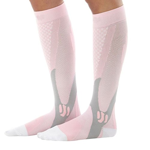 [Men Women Leg Support Compression Socks Stretch Breathable Ball Games Socks Hot Sale] (Sheriff Hats For Sale)