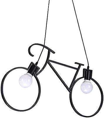 Lampara Colgante, Retro Industria Bicicletas Modelado De La ...