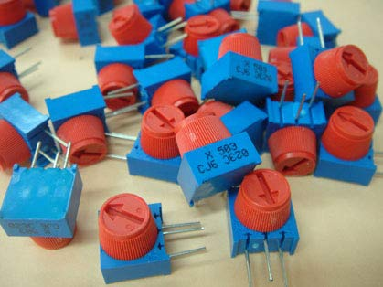 (Original new 100% Costa Rica import adjustable resistor 3386XCJ6 503 50K side potentiometer (SWITCH))
