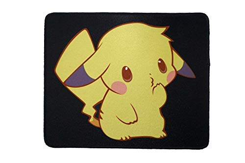 12 x 10 inches Cute Poke-Monster Anime Comic Gaming Mouse Pad Custom Stitched Mousepad mat