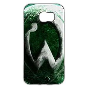 Fashion Design FC Sportverein Werder Bremen Logo Phone Case Cover For Samsung Galaxy S6 3D Plastic Phone Case