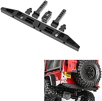 Parachoques trasero de aleación de aluminio para Traxxas TRX4 T4 1/10 Crawler Buggy Auto