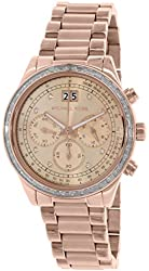 Michael Kors Women's MK6204 - Brinkley Rose Gold Watch