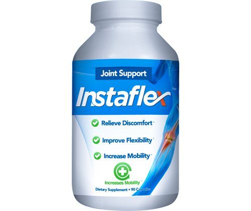 (Instaflex Joint Health - Clinically Studied Joint Relief Blend of Glucosamine, MSM, White Willow, Turmeric, Ginger, Cayenne, Hyaluronic Acid - 90 Capsules)