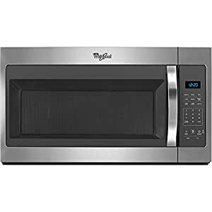 Whirlpool WMH31017FS WMH31017FS 1.7 Cu. Ft. 1000W Stainless Over-the-Range Microwave