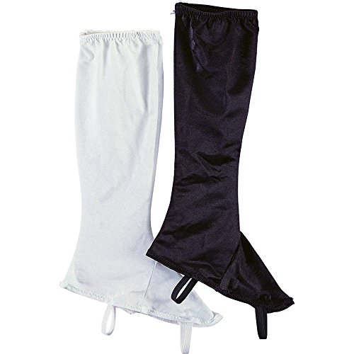 Rubie's Costume Co Ladies' Stretch Boot Tops Costume, White, White (White Boot Tops)
