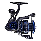 Cadence CS8&CS10 Spinning Reel, Ultralight Fast Speed Premium Magnesium Frame Fishing Reel with 11 Low Torque Bearings Super Smooth Powerful Fishing Reel with 36 LBs Max Drag & 6.2:1 Spinning Reel