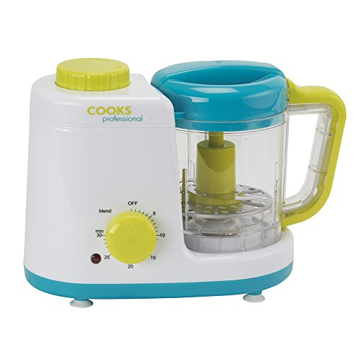 Baby Food Blender Processor Combined 2 in 1 Electric Steamer...