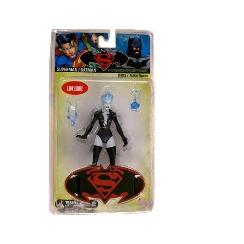 Superman/ Batman Series 7 Live Wire Action Figure
