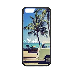 Canting_Good Palm Trees and California Dreaming Custom Case skin for iPhone 5,5S TPU (Laser Technology)