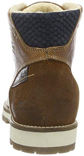 Tom Tailor 1684801 - Botas cortas para hombre Marrón (Camel)