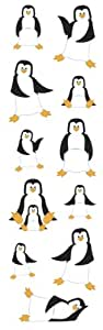 Penguins   Slim Stickers