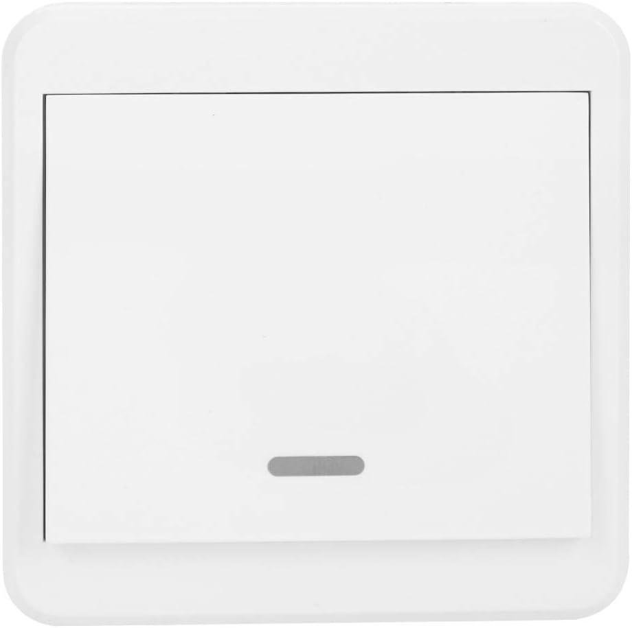 Wi-FI Interrupteur Smart Light Switch Panneau de Commutation Plaque avec Interrupteur Intelligent Compatible avec Alexa Google Home AC 90-250 V 2 Way