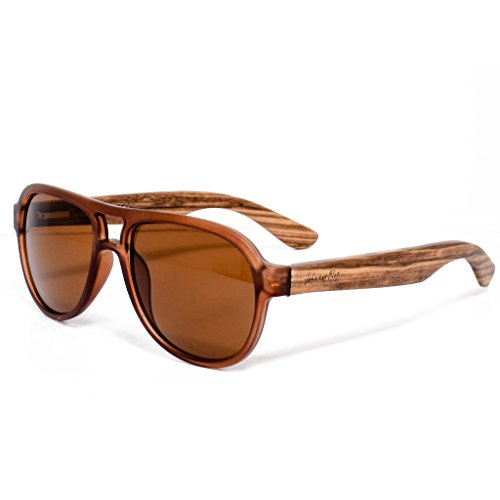 Johnny Fly Bamboo Sunglasses, - Bam Sunglasses
