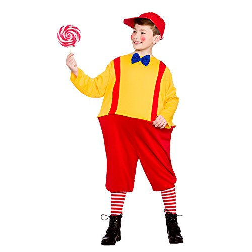 Boys Storybook Twin Red Yellow Fancy Dress Up Party Costume Halloween -