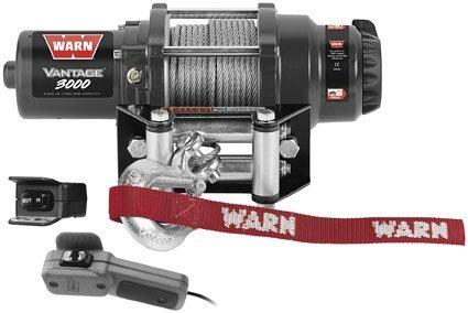 Warn Vantage 3000 Winch - Black