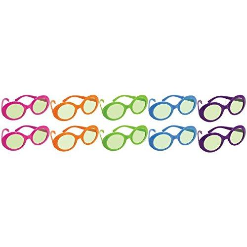 765def30479 Amazon.com  50 s Party Eyeglasses