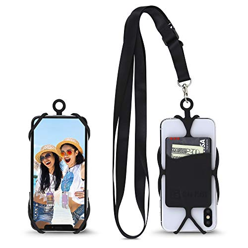 Gear Beast Universal Crossbody Pocket Cell Phone Lanyard Compatible with iPhone, Galaxy & Most Smartphones, Includes…