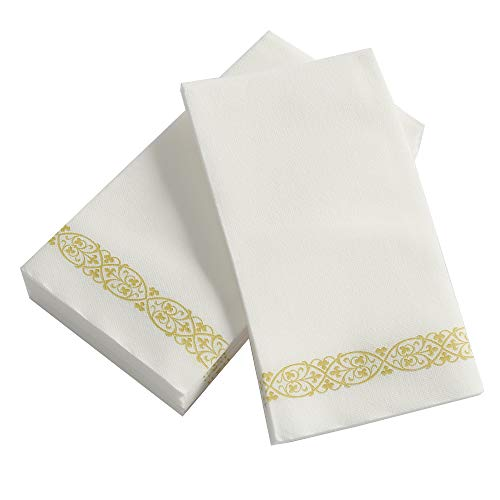 TRLYC Disposable Hand Towels, Dinner Napkins, Napkins Paper for Kitchen,Bathroom, Parties, Weddings, Dinners or Events…