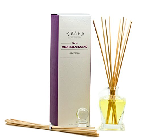 Trapp Ambiance Collection Reed Diffuser Kit, No. 14 Mediterranean Fig, 4.5-Ounce by Trapp (Image #1)