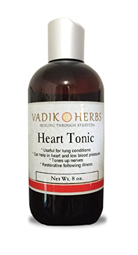 Heart Tonic (Arjunarishta) by Vadik Herbs | Ayurvedic Liquid Drink for Healthy Heart Care (8oz) | Ships from California, USA ~ Tested and imported for safety and purity ~ Trusted brand since 1971