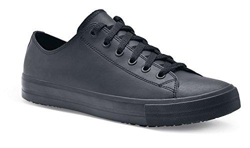 10 38649 for Schwarz Lässige Lederschuhe Shoes Herren Größe DELRAY 10 Rutschhemmende 45 Crews UK für xACq7qwg