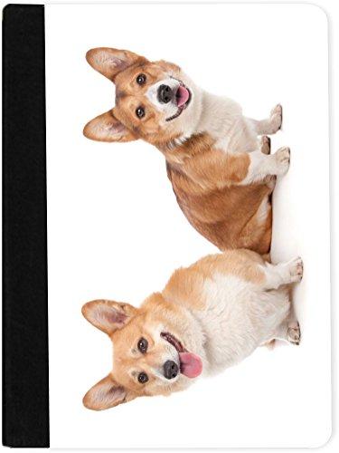 Rikki Knight Pembroke Welsh Corgi Dog Design Faux Suede N...