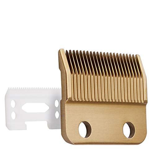 Professional Animal Standard Adjustable Replacement Blades #1037-400 -Compatible with Wahl Clippers #30-15-10 Ceramic Dog Blade Set,Gold
