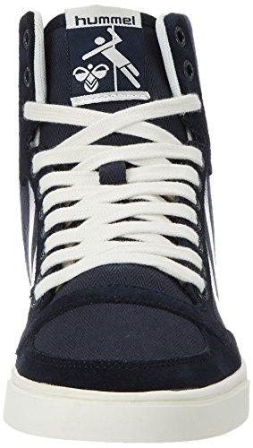 Hummel Sl Stadil Herringbone High, Zapatillas Altas para Mujer Azul (Ombre Blue)