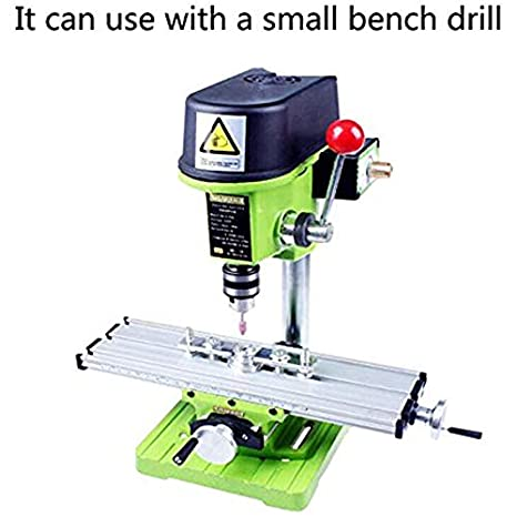 Globalflashdeal Bg630 Multifunction Worktable Milling Working Table Milling Machine Compound Drilling Slide Table for Bench Drill