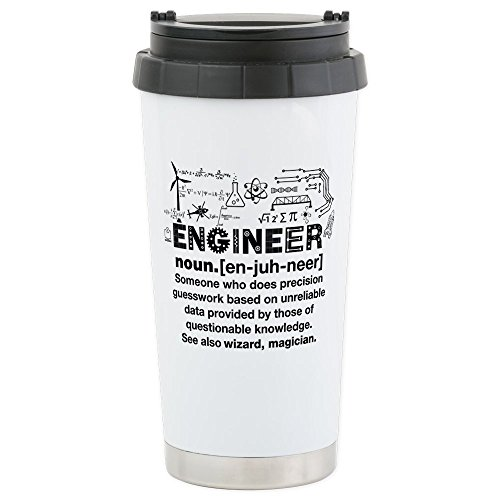 CafePress - Engineer - Stainless Steel Travel Mug, Insulated
