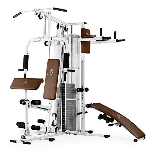 Klarfit Ultimate Gym 5000 – Multiestación de musculación, Entrenamiento Profesional, Múltiples Ejercicios para Hombros…