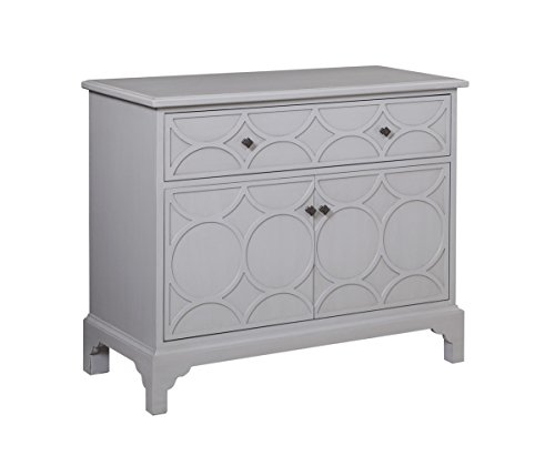 Company Quinn Hospitality Cabinet in White by Bassett Mirror Company