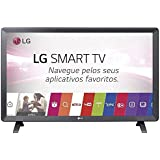 "Smart TV Monitor LG 24"" LED Wi-Fi webOS 3.5 DTV Time Machine Ready 24TL520S - Bivolt"