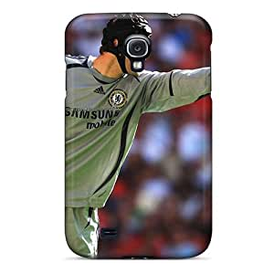 ASy-1906ln Anti-scratch Case Cover KayGY Protective The Player Chelsea Petr Cech Case For Galaxy S4