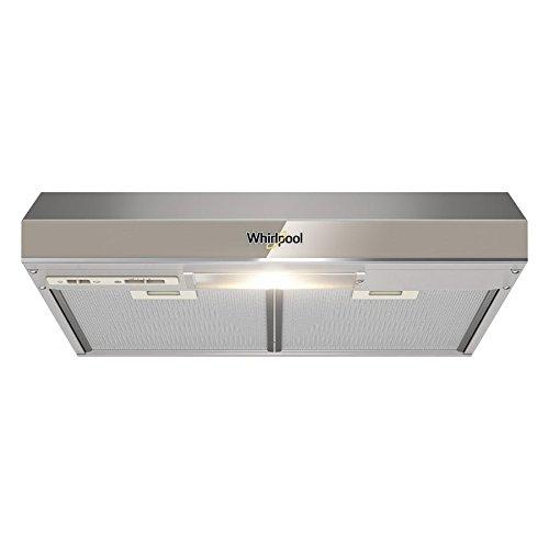 Campana Bajo Alacena de Cocina Whirlpool Pared WH6010S de 60 cms (24 pulgadas) cms en Acero Inoxidable