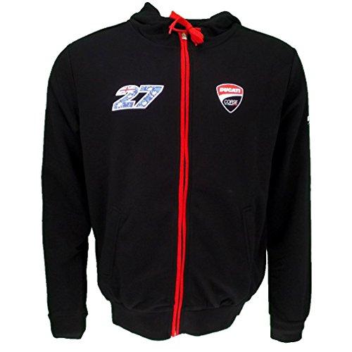 Casey Stoner 27 Moto GP Ducati Hoodie Black Official 2016 (Moto Gp Merchandise compare prices)